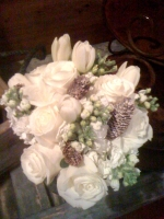 Rustic winter bouquet